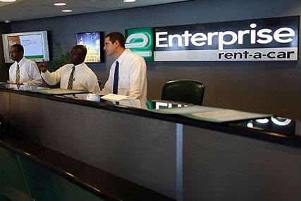 Enterprise Rent-A-Car: hired Dare