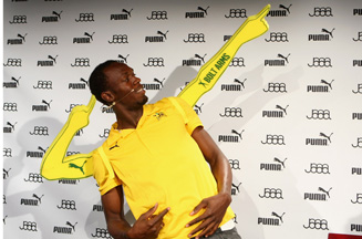 proteger Carne de cordero Fracaso  Puma celebrates latest Usain Bolt records with viral campaign