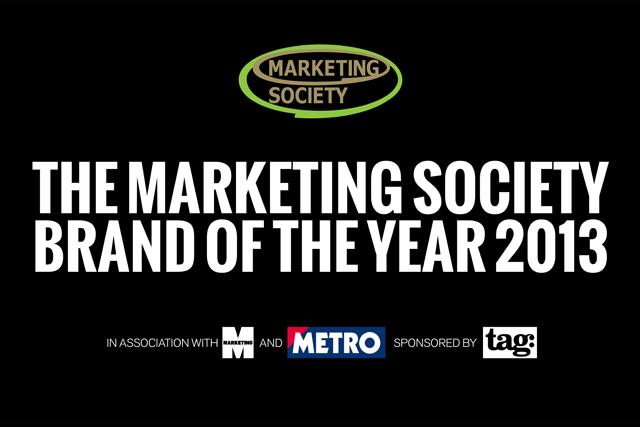 Marketing Society: Brand of the Year 2013