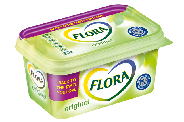 Flora: Unilever switches product back to its original flavour