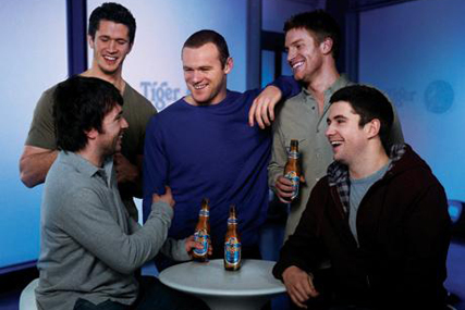 Tiger Beer: Rooney ad is taken off air