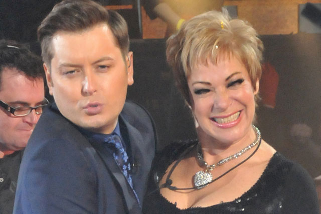 Celebrity Big Brother: presenter Brian Dowling and winner Denise Welch