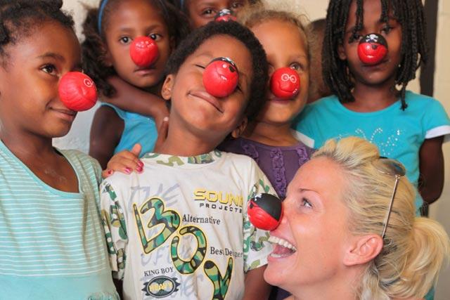 Flying Start: Sarah Harding teams up with BA charity (pic: Nick Morrish)