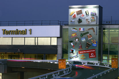 JC Decaux...ending BAA airport advertising contract