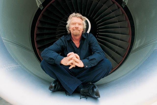 Richard Branson: Virgin Atlantic's majority shareholder