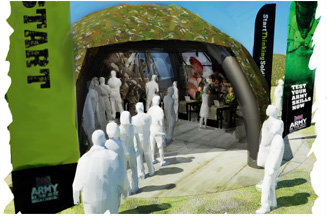 British Army in virtual reality push to back 'Start thinking Soldier' campaign
