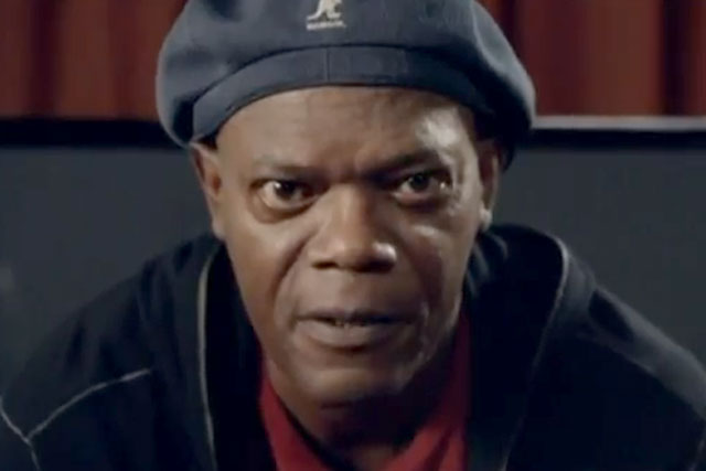 Samuel L Jackson: boosts support for Obama by half a million