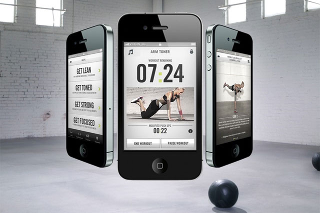 Nike: training club iPhone app