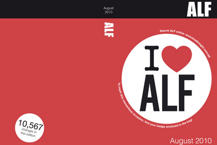 ALF: going online-only after dropping print edition