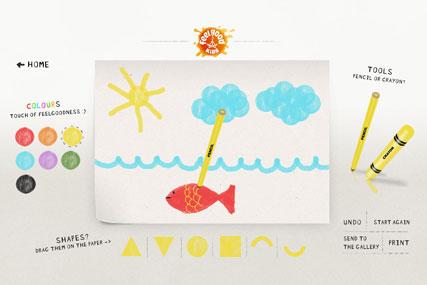 Feel Good Drinks: creates doodle site