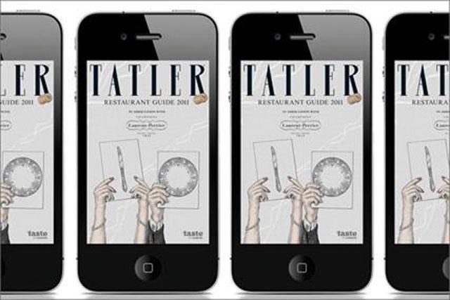 Tatler restaurant guide iPhone app