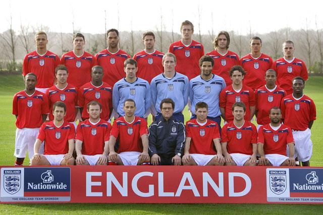 The 2010 England team