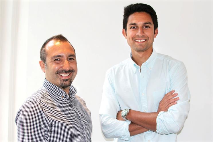 Habib (l) and Shah: partners