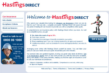 MVi to promote Hastings Direct