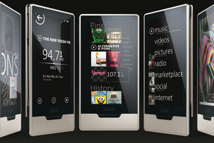 Zune: Microsoft's music and video service comes to the UK