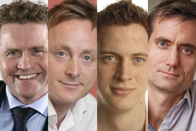Steve Parker, Stefan Bardega, Sean Ramsay and David Wilding