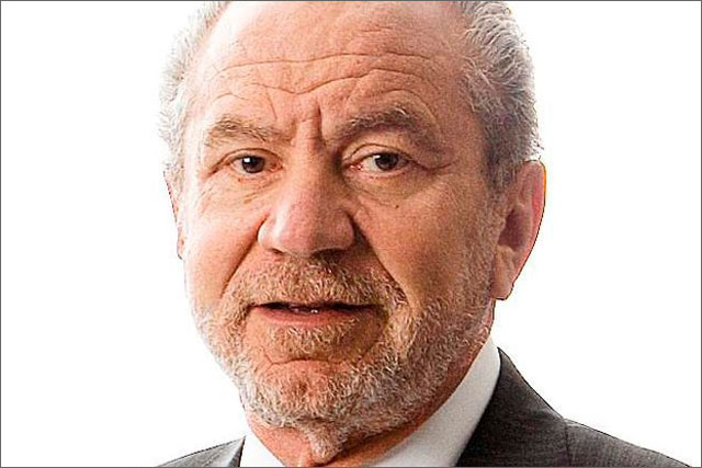 Lord Sugar: resigned as chairman of YouView last week
