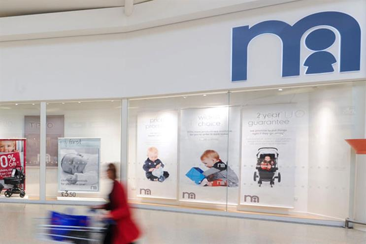 Mothercare: appoints Havas Worldwide London to its integrated ad account