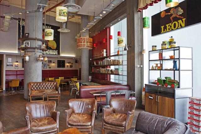 Champions Of Design Leon Inspiration Interior Design Fast Food Decor