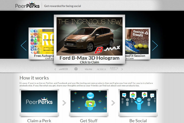 Ford: targets social influencers with hologram of new B-Max people carrier