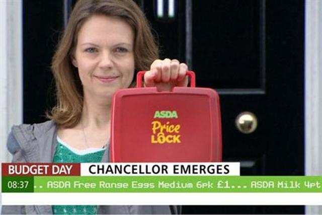 Asda: March 2013 'price lock' campaign