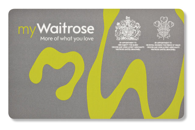 myWaitrose: Waitrose's first loyalty card