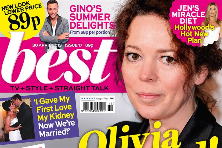 Best: Hearst's relaunch targets 'recessionista mums'