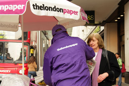 Thelondonpaper... to close