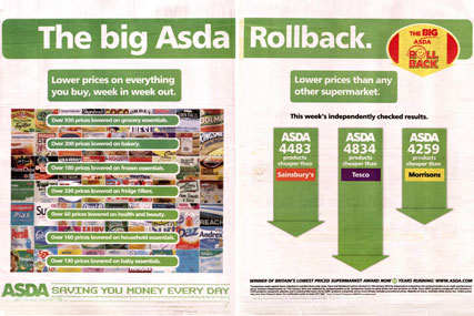 Asda Rollback: ad is chastised by the ASA