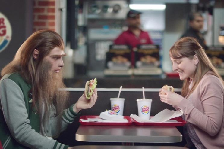 Burger King: Starcom will handle media activity for most European markets