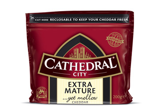 Dairy Crest invests £10m in Cathedral City relaunch