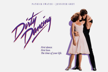 Dirty Dancing ...number one UK film