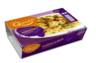 Quorn redesigns packs to appeal to wider appeal