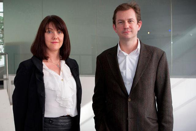 Dan Izbicki (right) with Nikki Crumpton: will lead MasterCard business