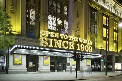 Selfridges...Wieden & Kennedy picks up 100th birthday task