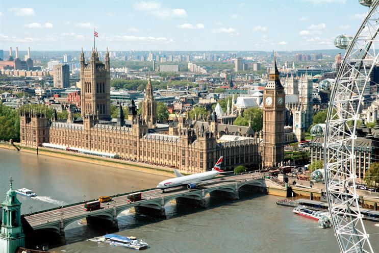 British Airways: advertised heavily as London 2012 sponsor
