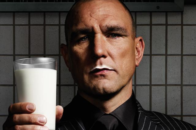 Vinnie Jones: new face of Make Mine Milk campaign