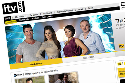 ITV.com... set for revenue increase