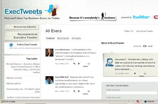 Twitter's ExecTweets