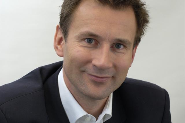 Jeremy Hunt: culture secretary outlines plans for regional TV multiplexes