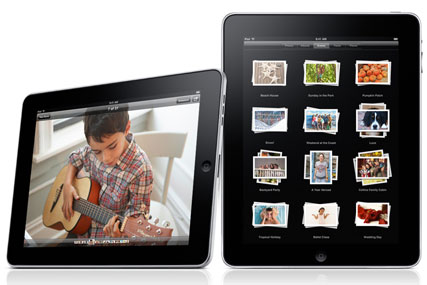 Apple iPad: faces challenge from imminent BlackBerry tablet