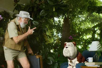 Churchill…TV ad starred David Bellamy