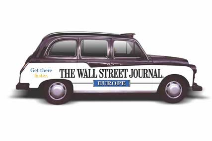 Wall Street Journal Europe: relaunching Weekend Journal