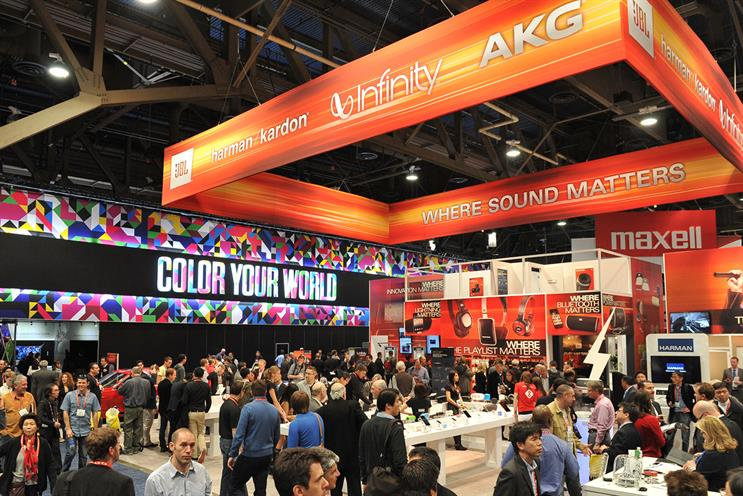 2013 International CES: connected devices, personal health and human-activated interfaces featured prominently