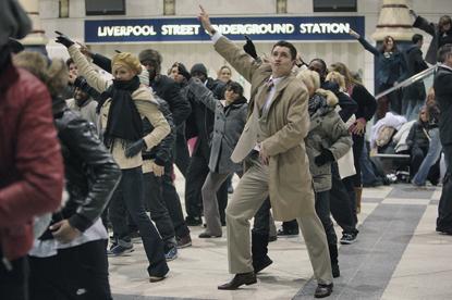 T-Mobile... Saatchi's 'dance' spot scoops gold