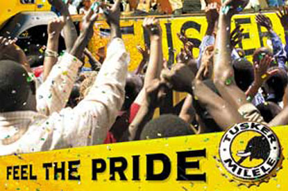 Tusker…reviewing its advertising account