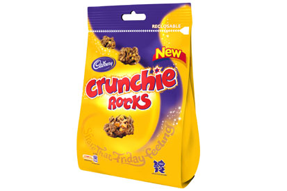 Crunchie Rocks: new product from Cadbury