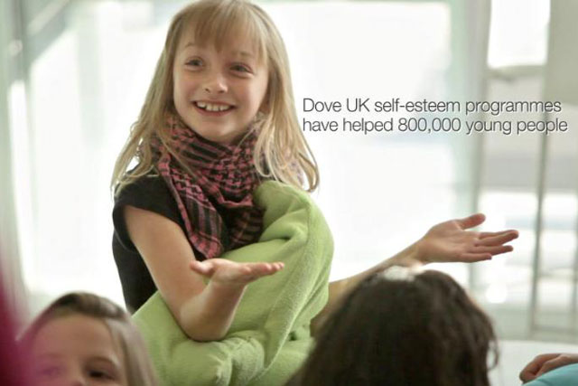 Dove: unveils latest self-esteem campaign on TV this weekend