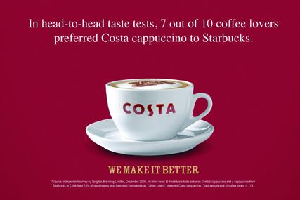 Costa ad: upheld by ASA
