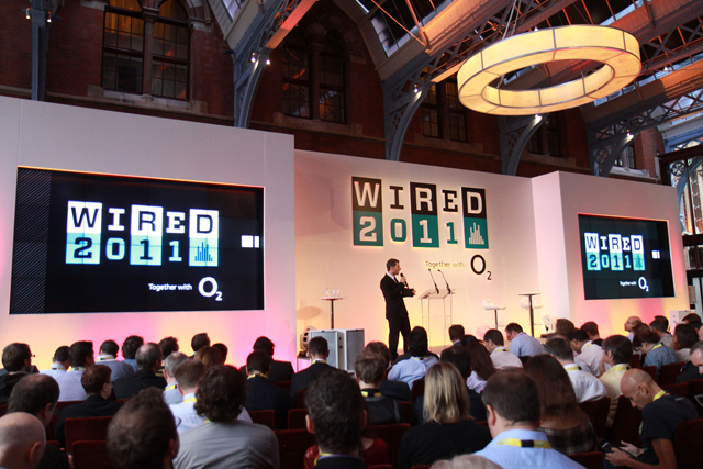 David Rowan speaks at the Wired Conference